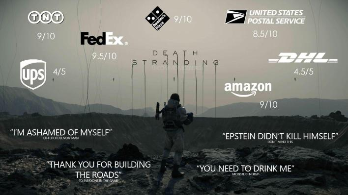 "The ""True"" review of Death Stranding : DeathStranding"