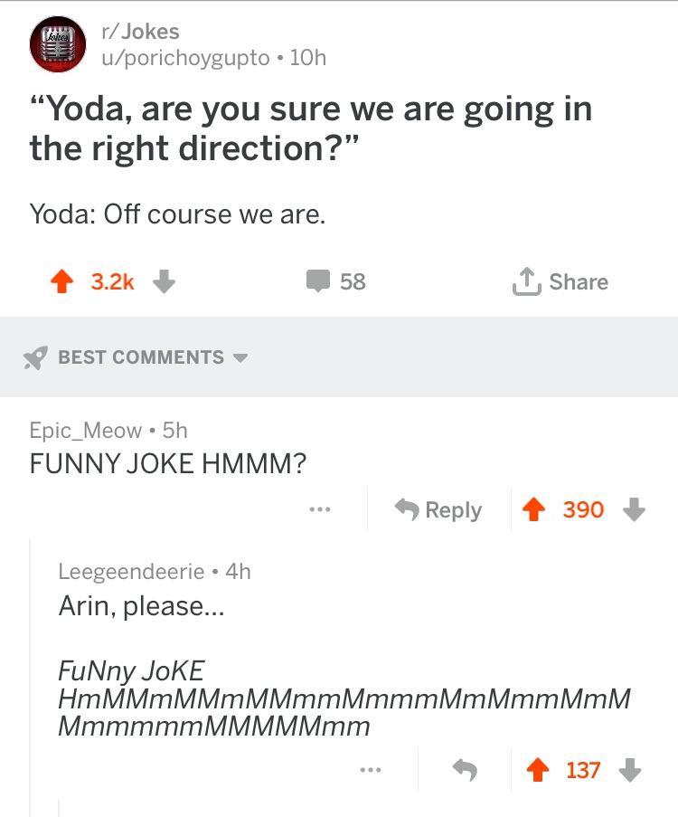 Game Grumps Funny Joke Yoda : grumps, funny, Comments, Gamegrumps