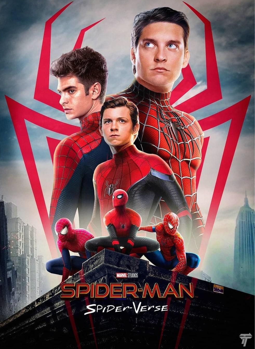 Live Action Spider Verse : action, spider, verse, Spider-Man:, Spider-Verse, Poster, Creator:, Travel, Spiderman
