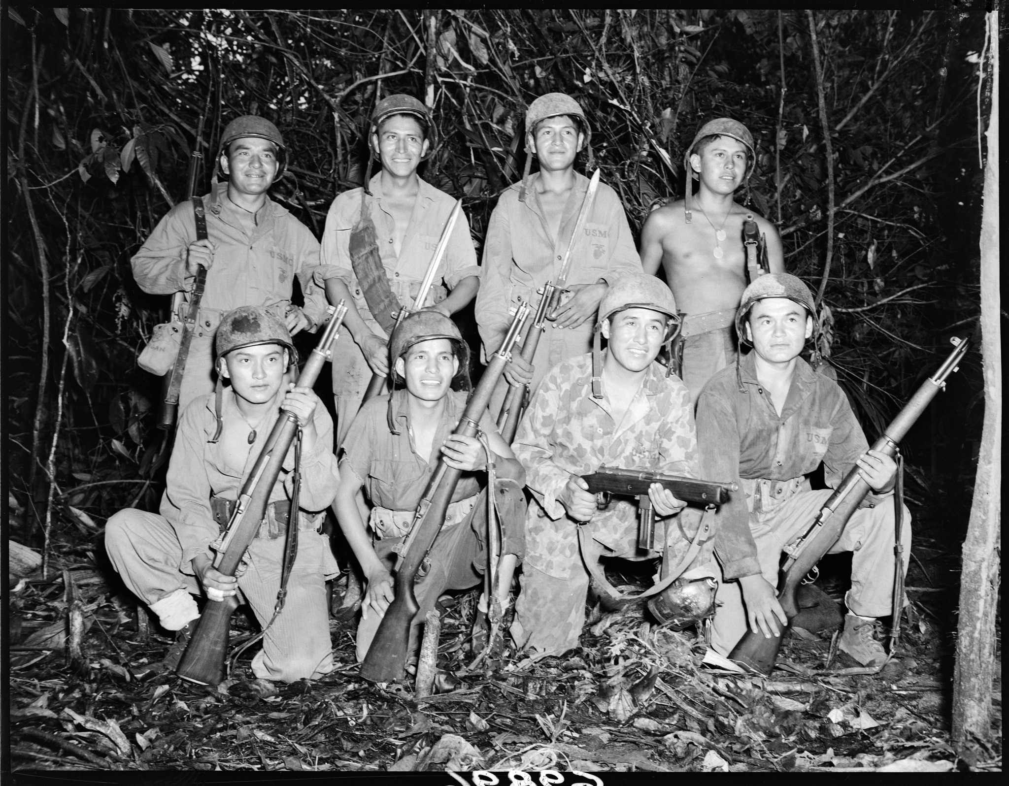 Navajo Code Talkers In The Pacific C X