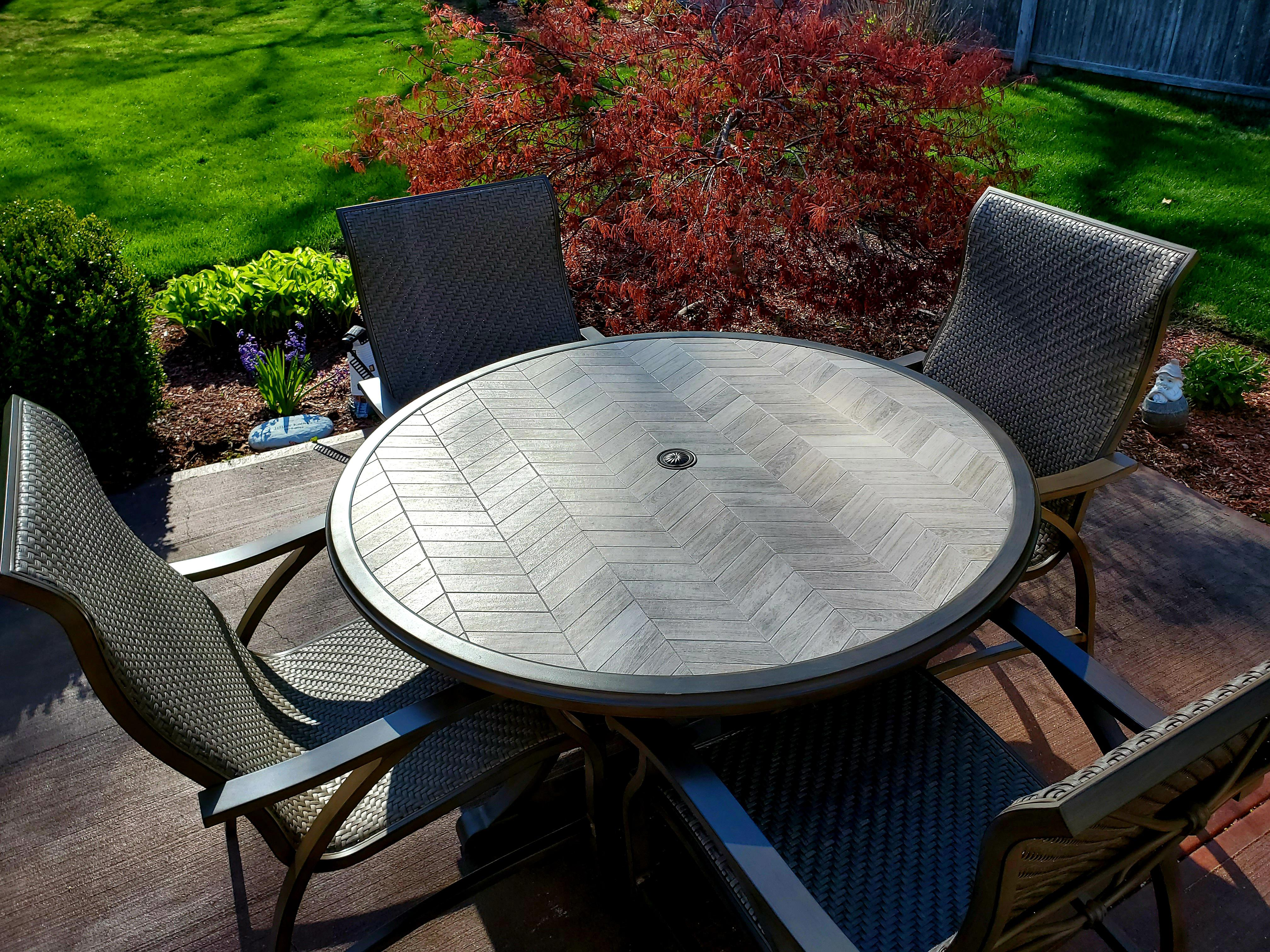 costco patio set can t believe the
