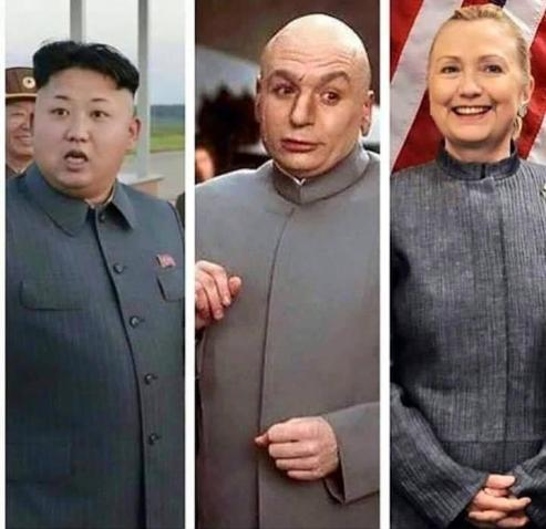 Image result for hillary's election outfits kim jong un