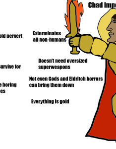 The virgin galactic empire vs chad imperium of man also grimdank rh reddit