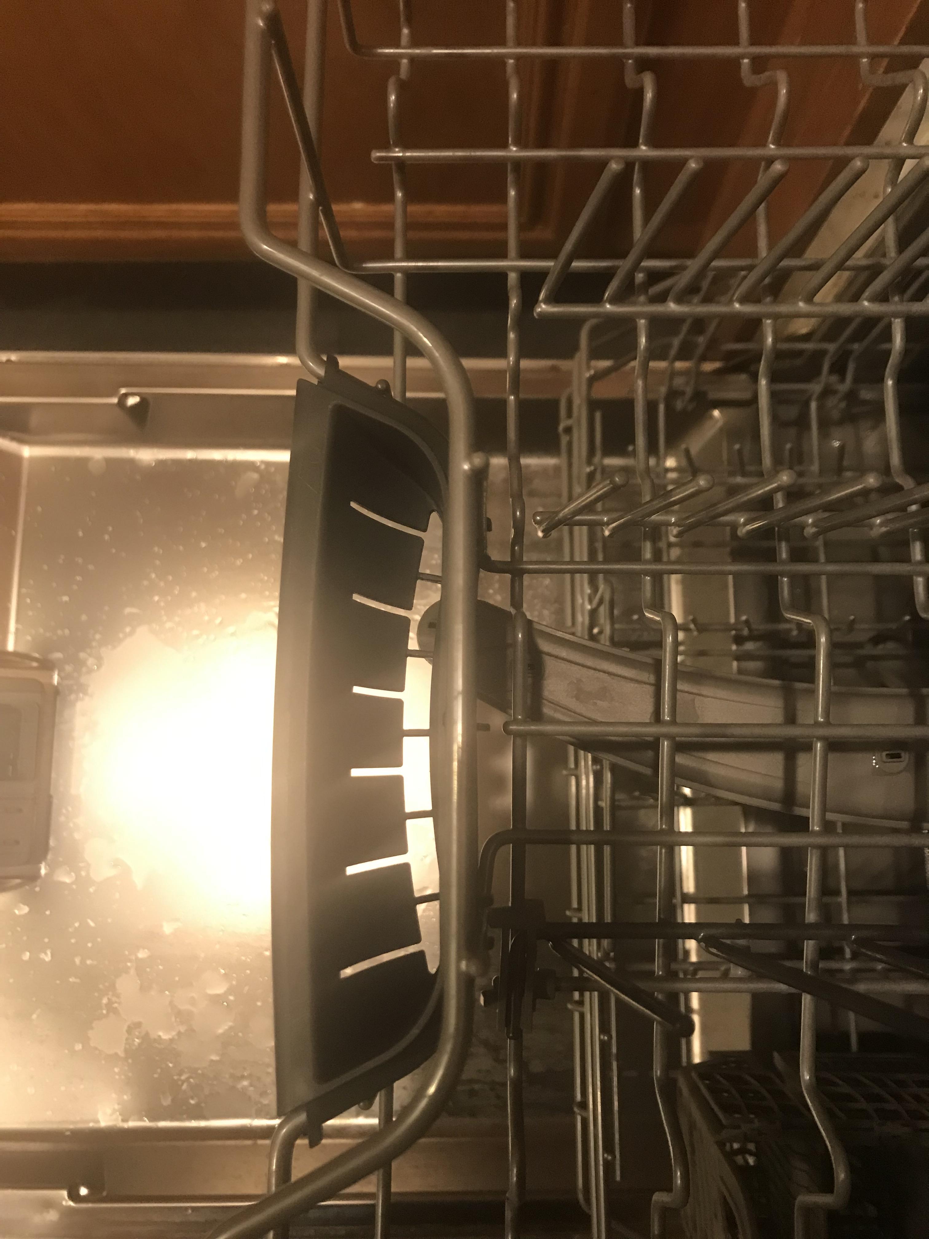 Bosch Dishwasher Top Rack : bosch, dishwasher, Handle, Bosch, Dishwasher, Strange, Slots, Whatisthisthing