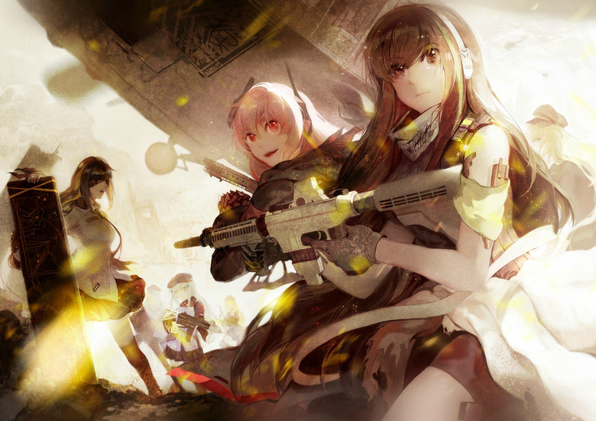 Girls Frontline Ww2 Wallpaper Extraction Point Girls Frontline Gunime