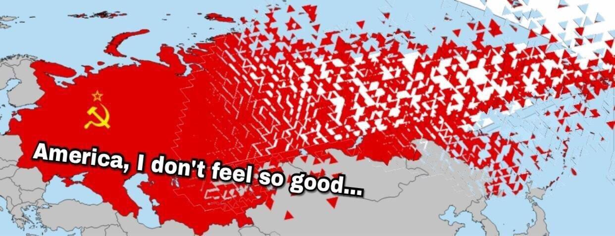 The Dissolution Of The Soviet Union C 1991 X Post R