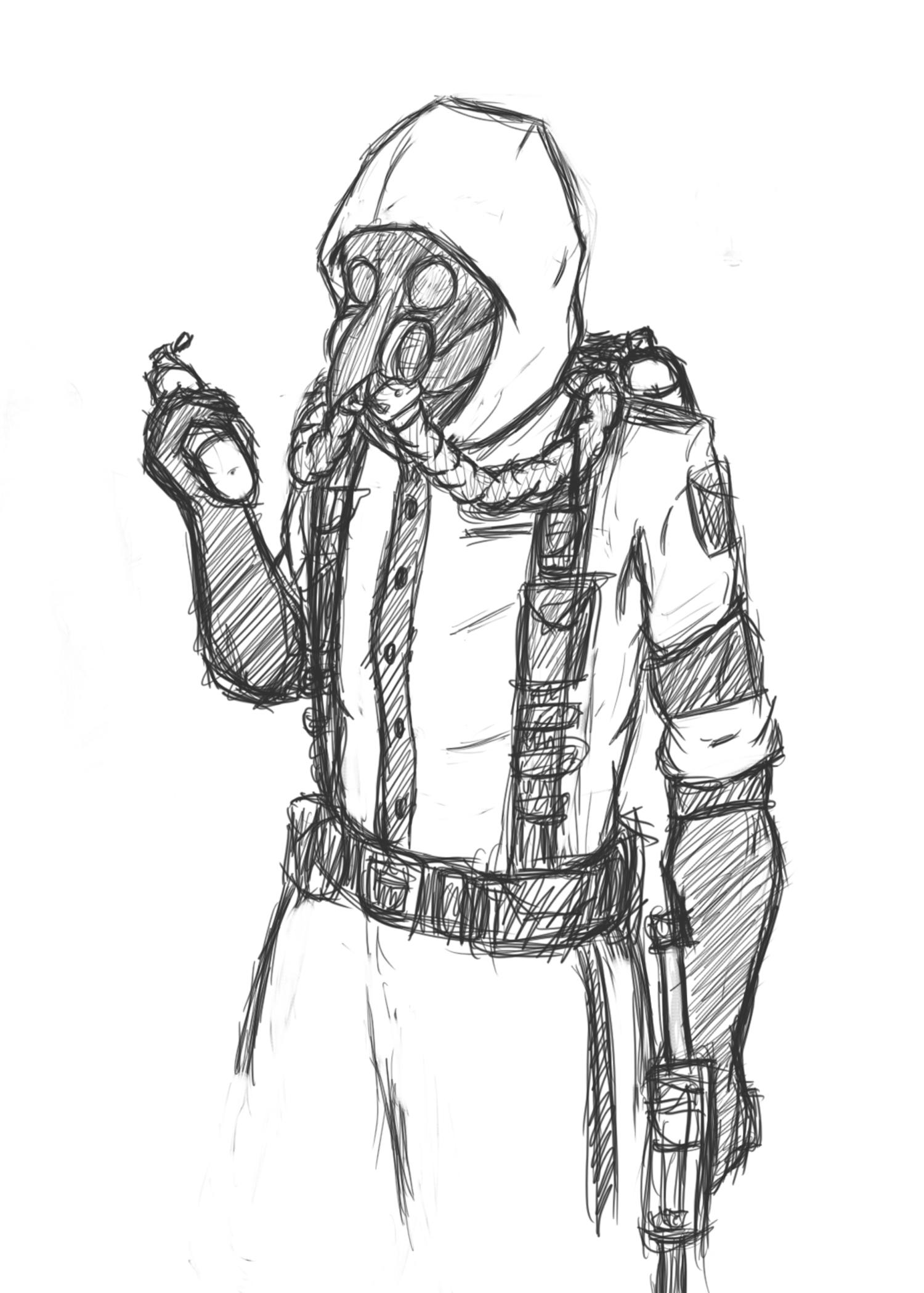 The Plague Smoke Headgear Uniform Concept Idea Rainbow6