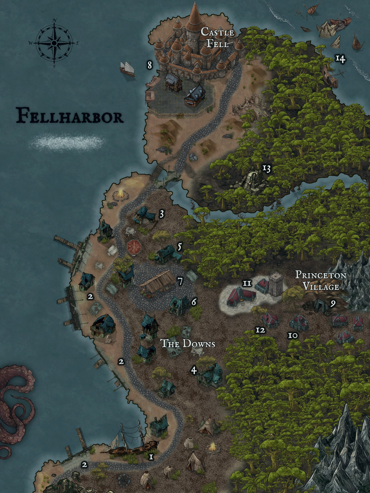 Pirate Haven : pirate, haven, Feedback, Requested, First, Lawless, Pirate, Haven, Fellharbor, Inkarnate