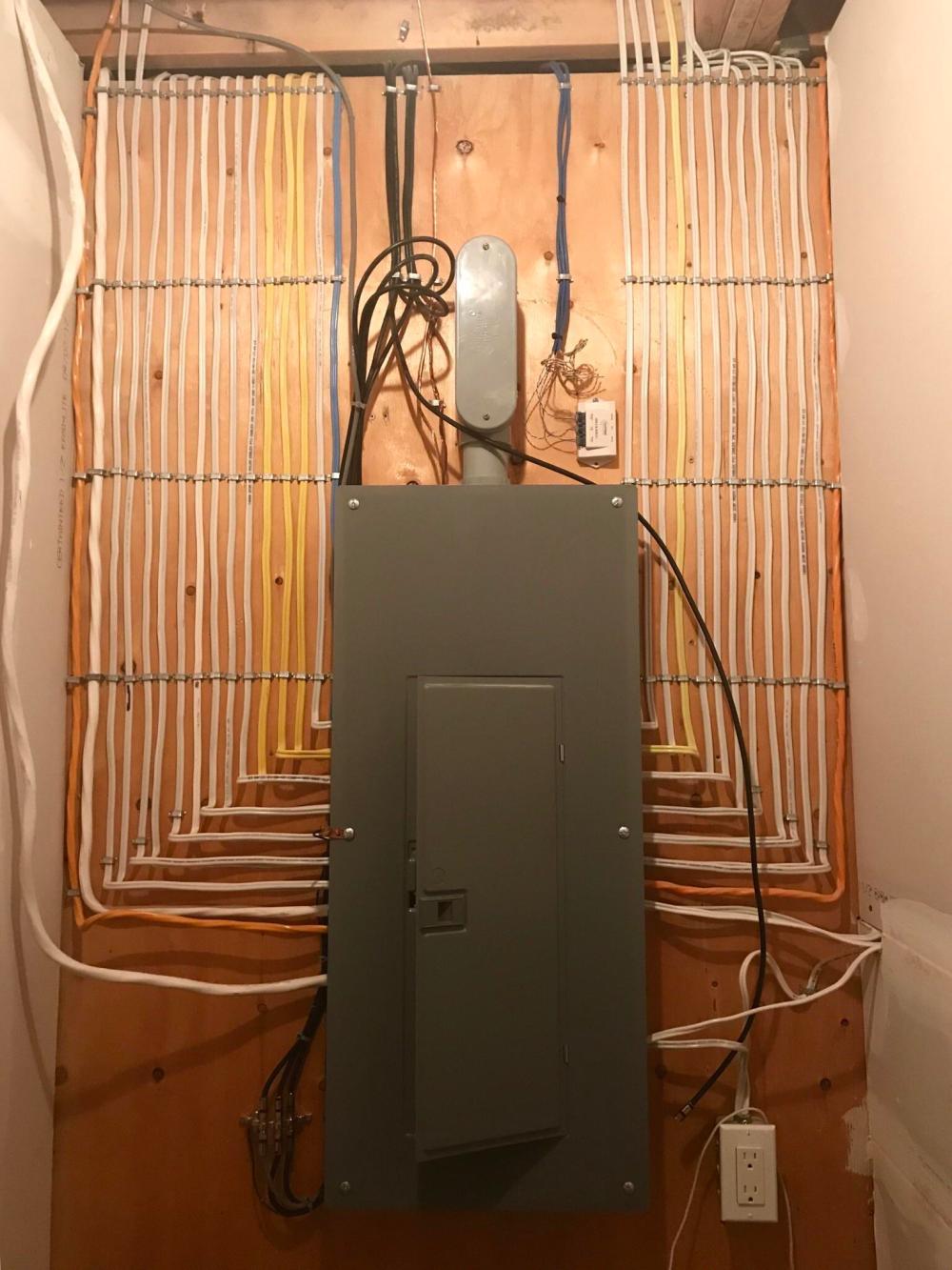 medium resolution of electrical box in my basement