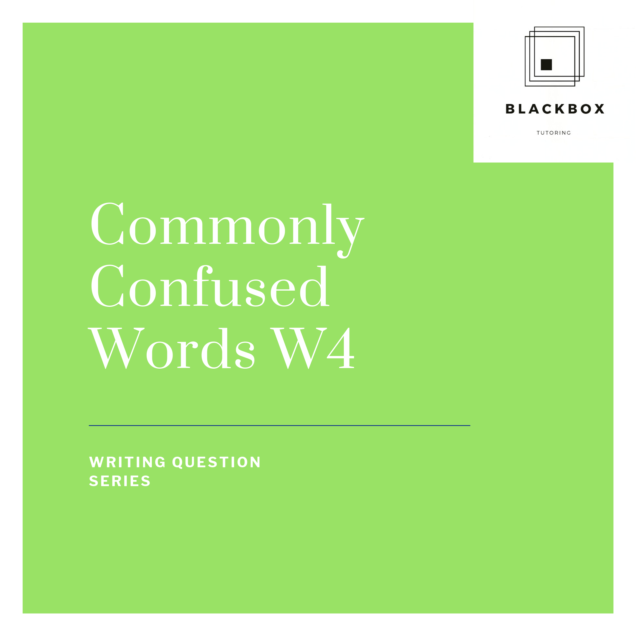 Commonly Confused Words Affect Vs Effect Sat