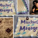 Finished A Baby Blanket And Niffler For My Cousin S Magical World Of Harry Potter Themed Nursery Crochet