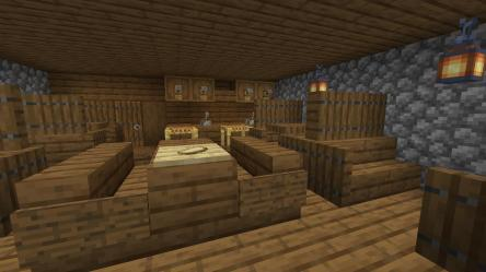 How do you like my medieval tavern? I m a bit of an amateur builder especially with interiors Criticism welcome : Minecraft