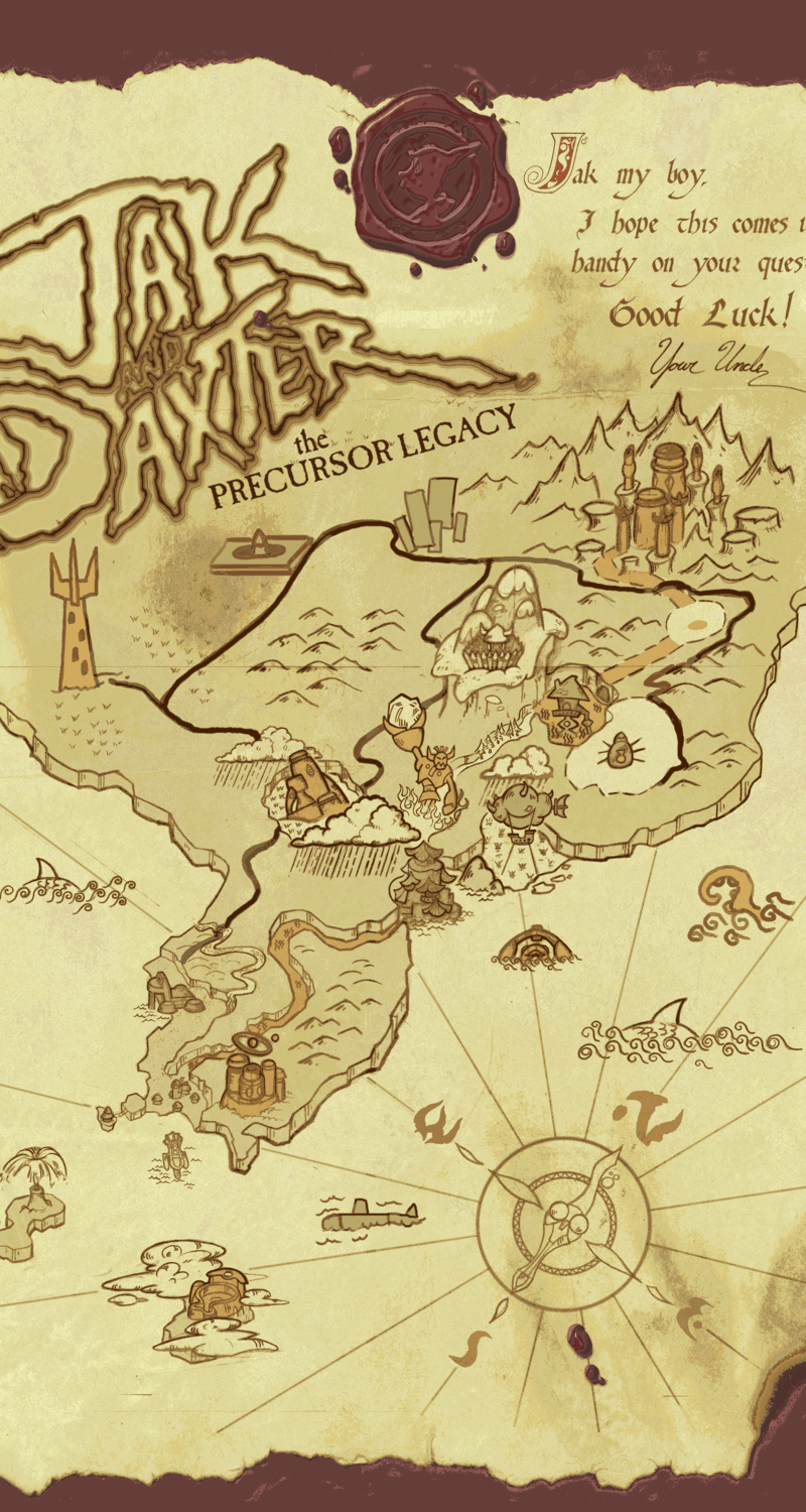 Jak And Daxter Map : daxter, Demo., Added, Drone, (more, Submarine), Tentacle, Here., Jakanddaxter