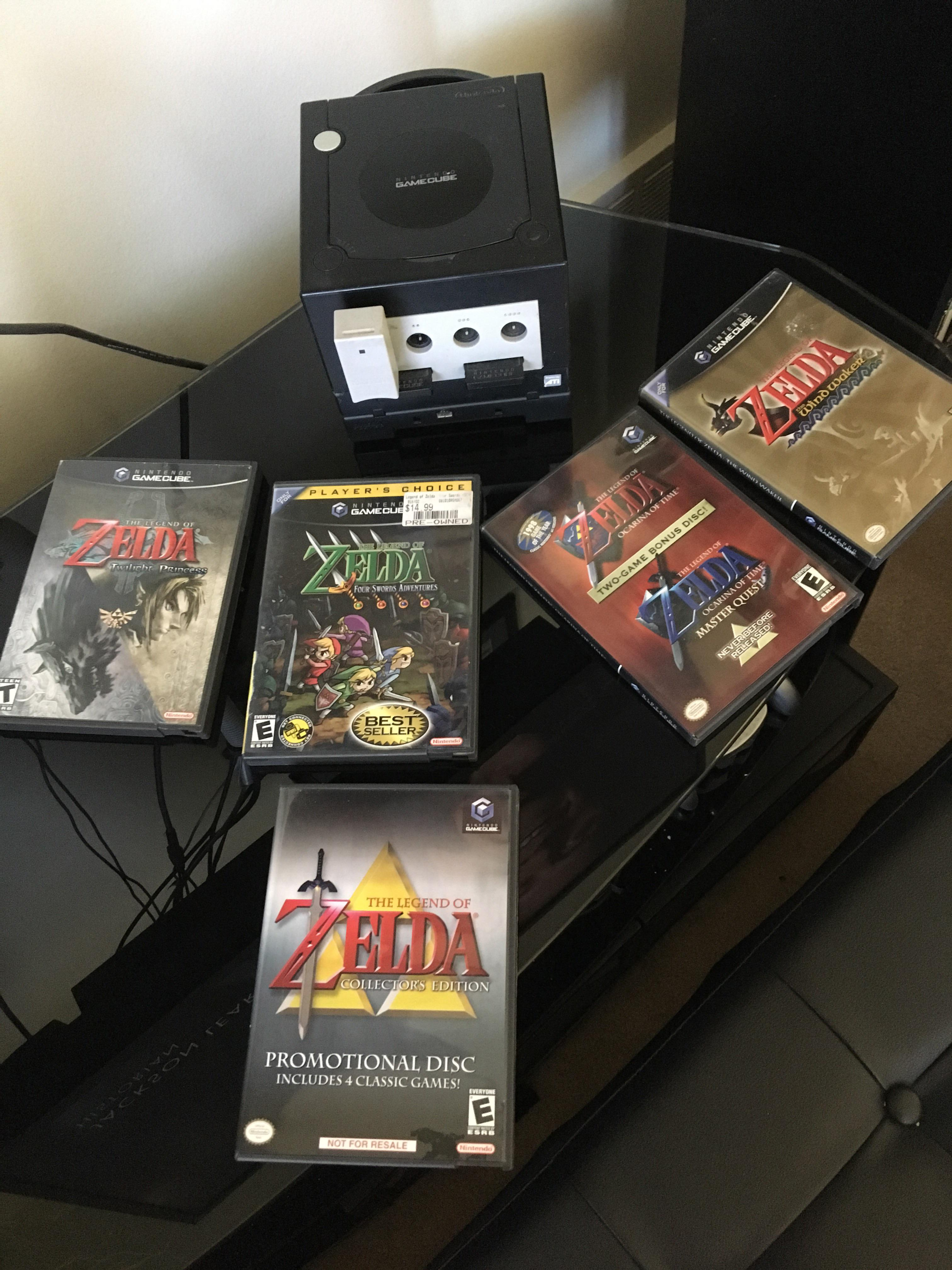 gamecube zelda collection complete