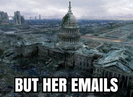 But her emails.... : EnoughTrumpSpam