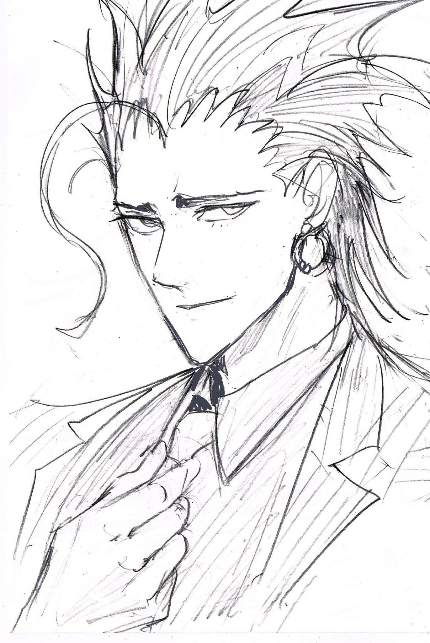 Reiji Maruko from Eyeshield 21 sketch by Yusuke Murata