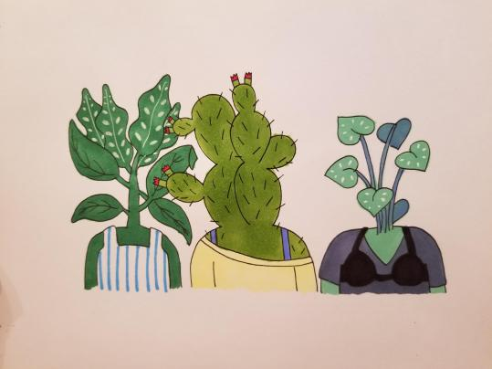 I love the plant people in this show: TucaAndBertie