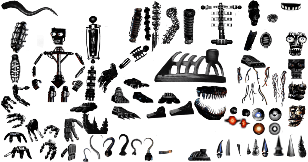Hey kid, you want some endoskeleton parts? : YuB