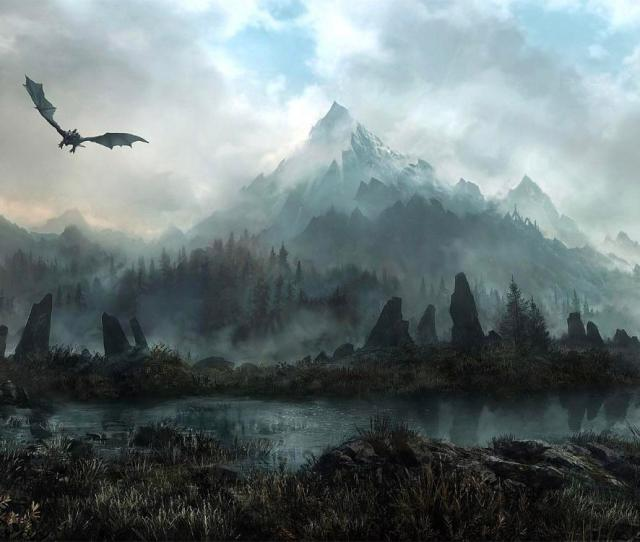 Wallpaper Skyrim Request Of High Res I Think