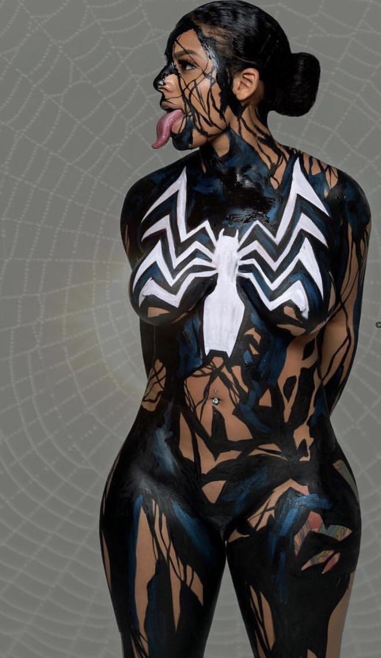 Venom : BodyPaintNSFW