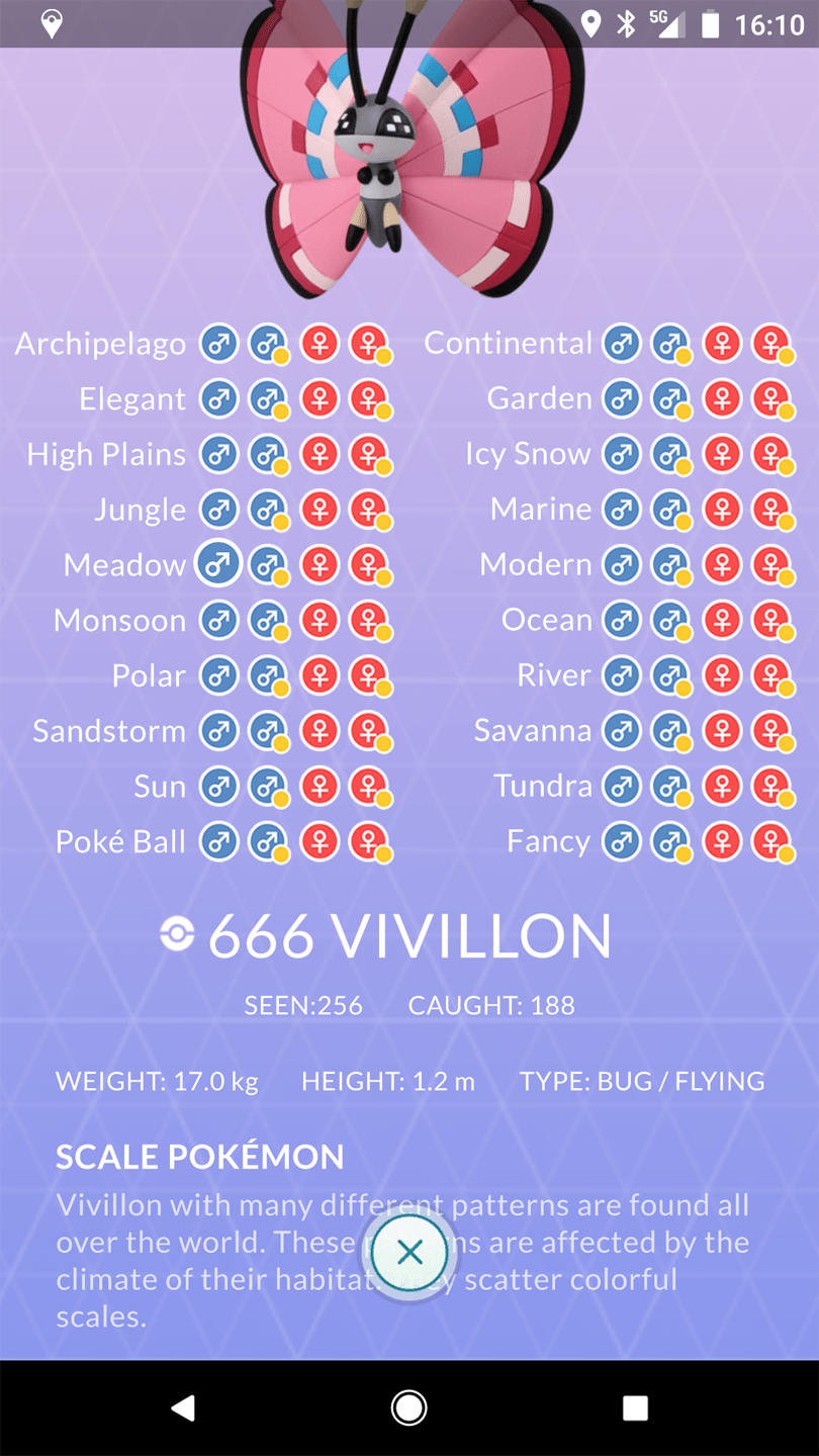You Don T Like How Castform S Pokedex Entry Looks Wait Until You See How I Imagine Vivillon S Entry Thesilphroad
