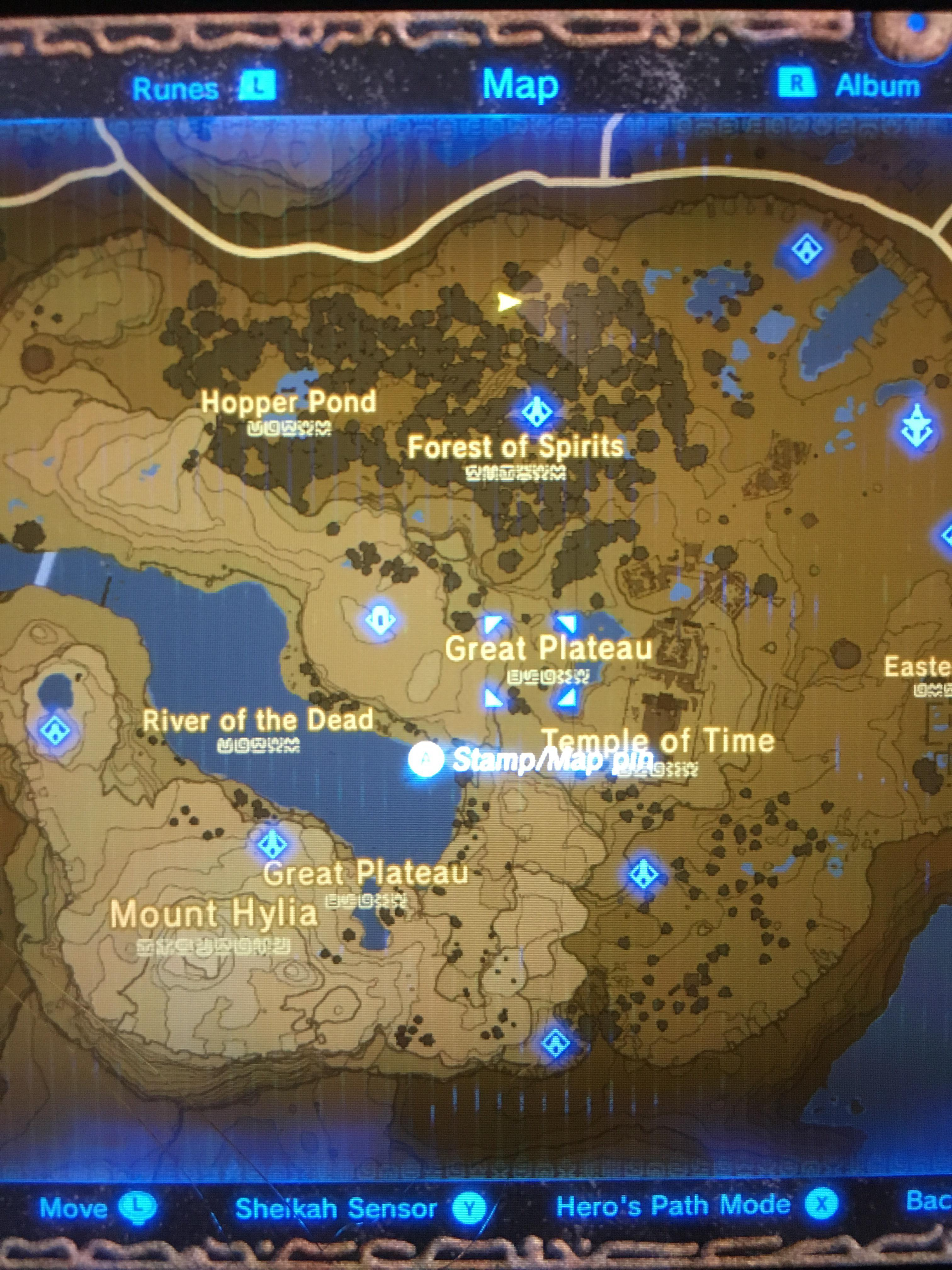 Full Botw Map : Crazy,, Think, Great, Plateau, Entire, Breath_of_the_Wild