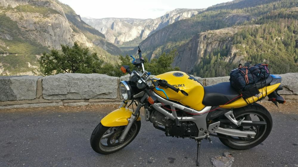 medium resolution of just got back from my first long ride sf to yosemite