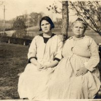 Carrie and Emma Buck in 1924, right before the Buck v. Bell trial, which provided the first court approval of a law allowing forced sterilization in Virginia.(1538x1153)