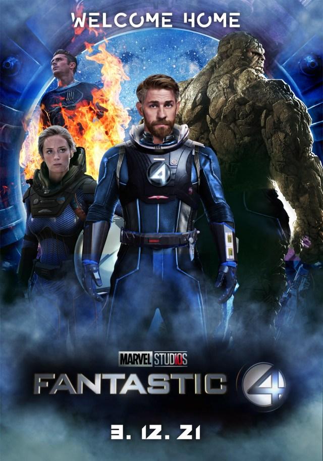 Fan Contentyou Guys Asked For It Mcu Fantastic Four Oc