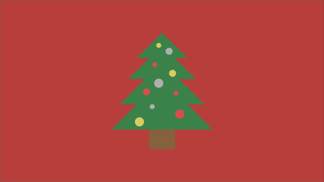 Minimalist Christmas Tree Wallpaper I Whipped Up Quick Wallpapers