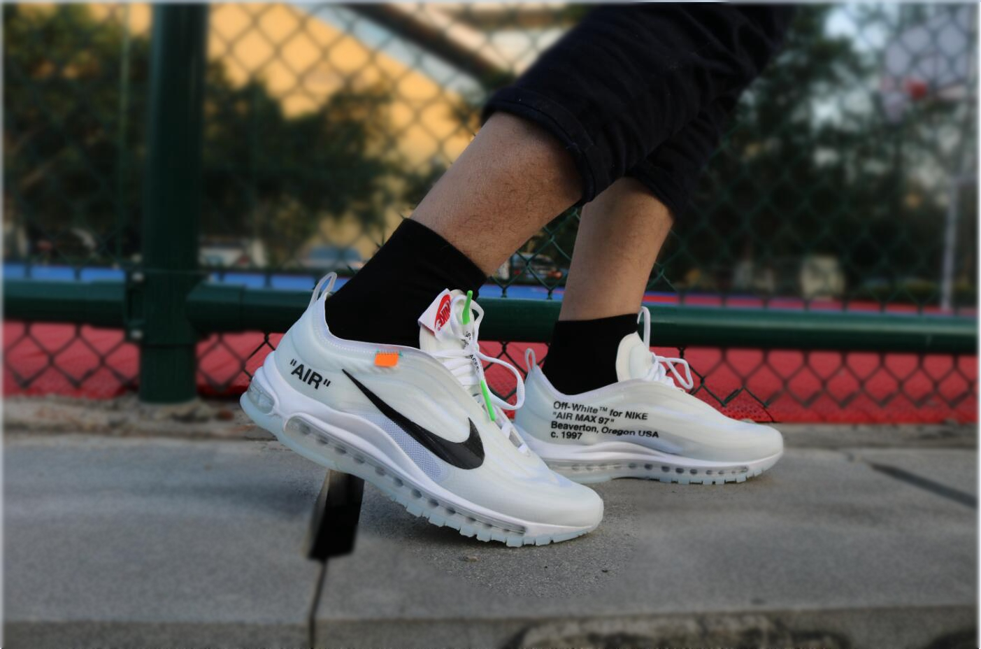 Air Max 97 Off White On Feet White Air Max 97 Unboxing Review