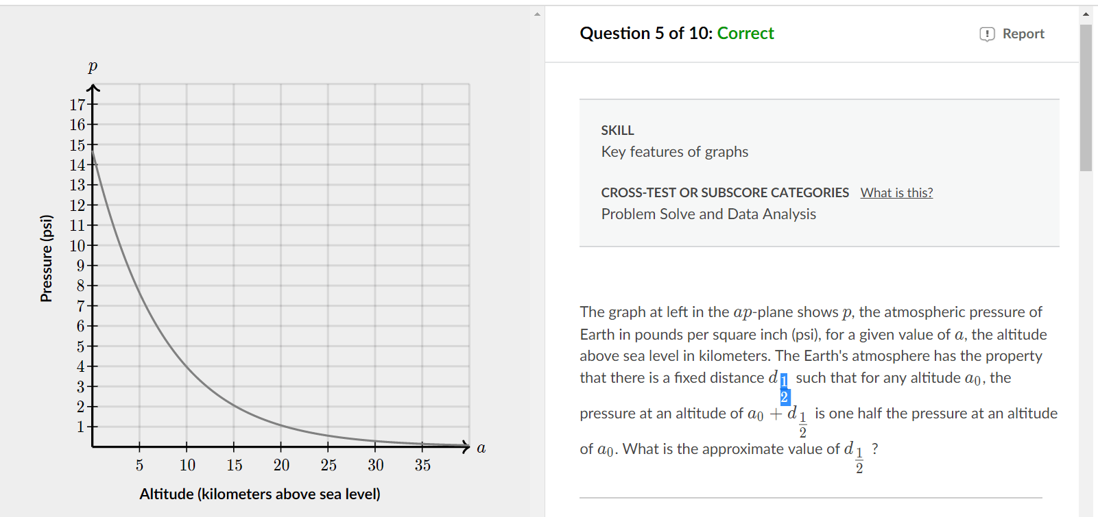I need help on this Khan Academy SAT math (I got it right