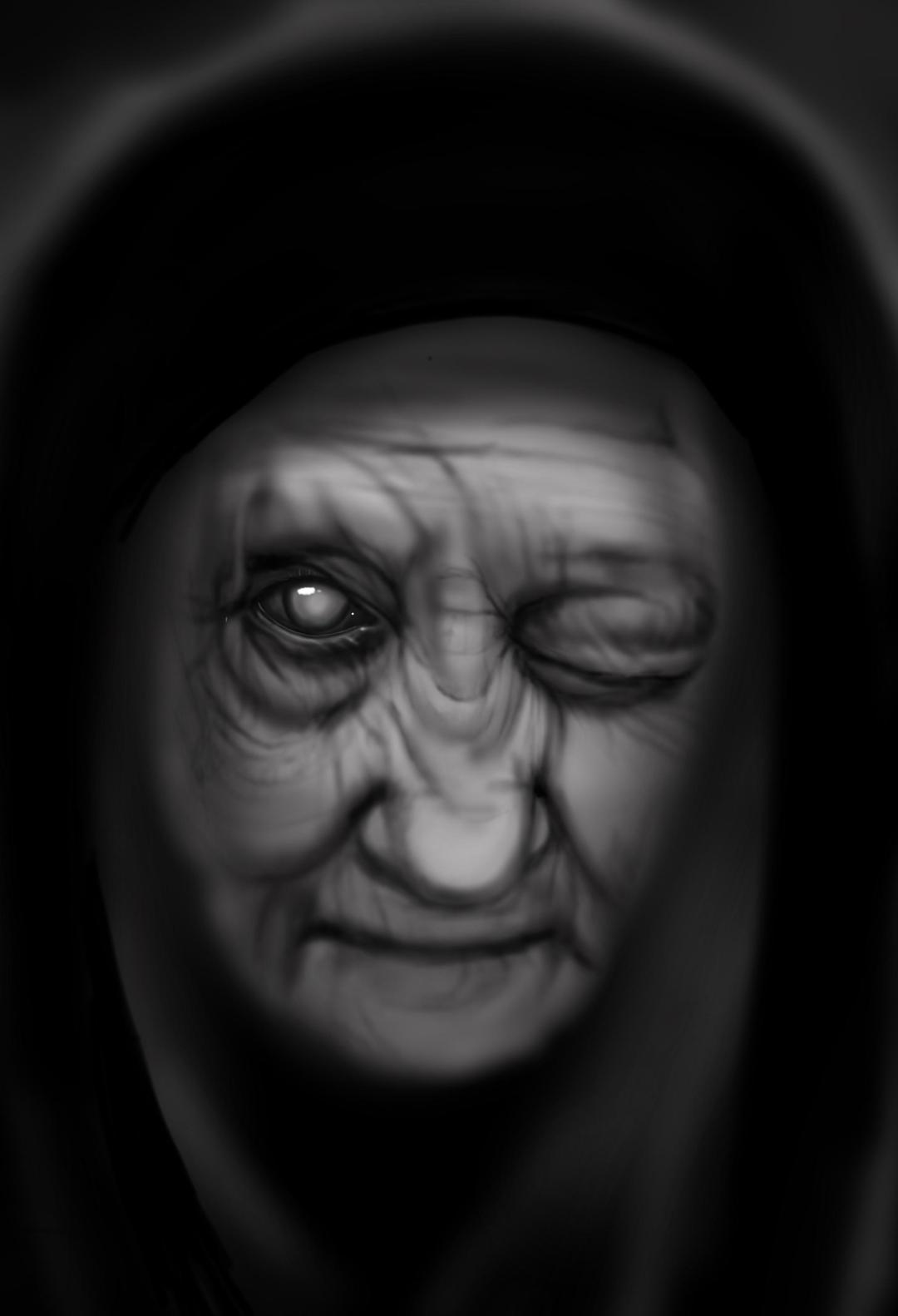 My Interpretation Of Pesta The Ashen Faced Woman From Norwegian Folklore That Was The Personification Of The Black Plague In The 14th Century Specart