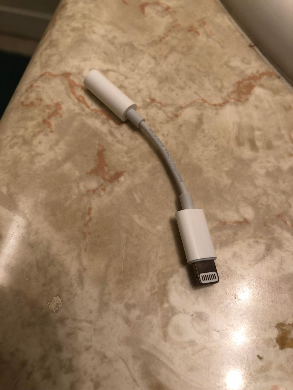 medium resolution of the only way to use wired headphones on an iphone x