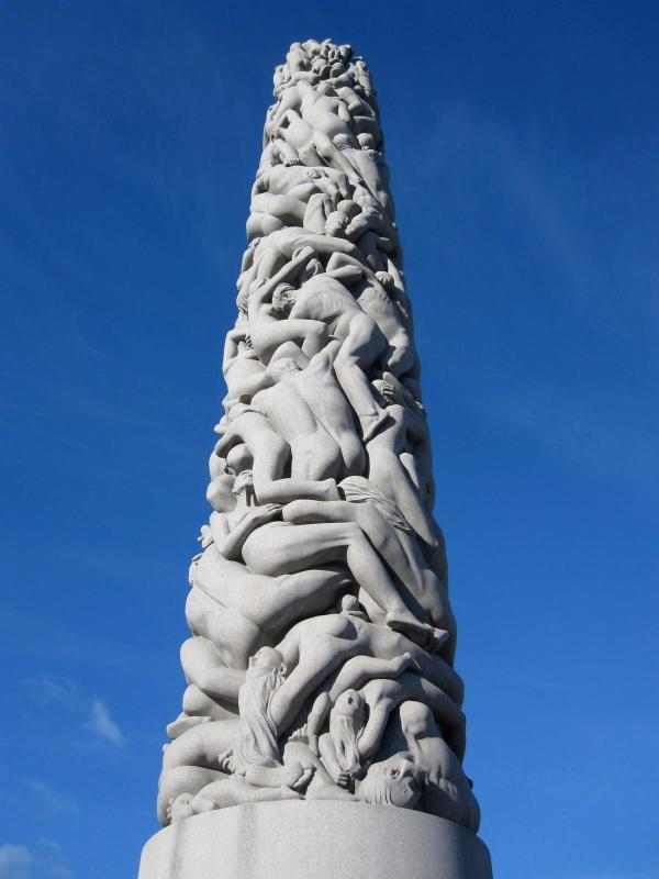 Monolith Sculpture Vigeland