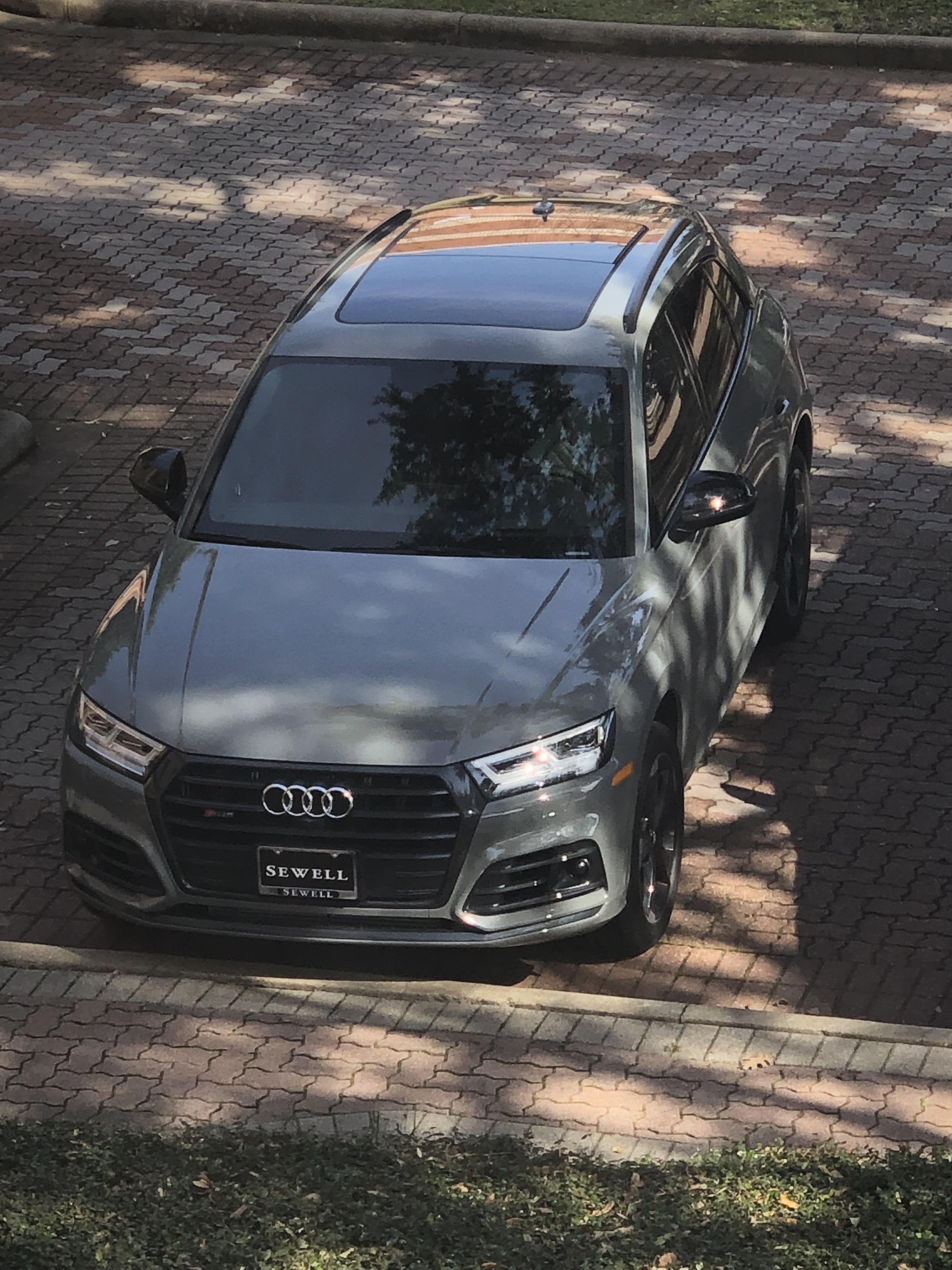 Audi Quantum Gray : quantum, Can't, Color, Combination., Quantum, Black, Optics.