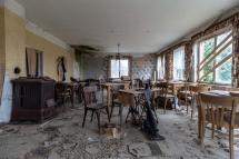 Abandoned Dining Room Of Inn Germany Oc