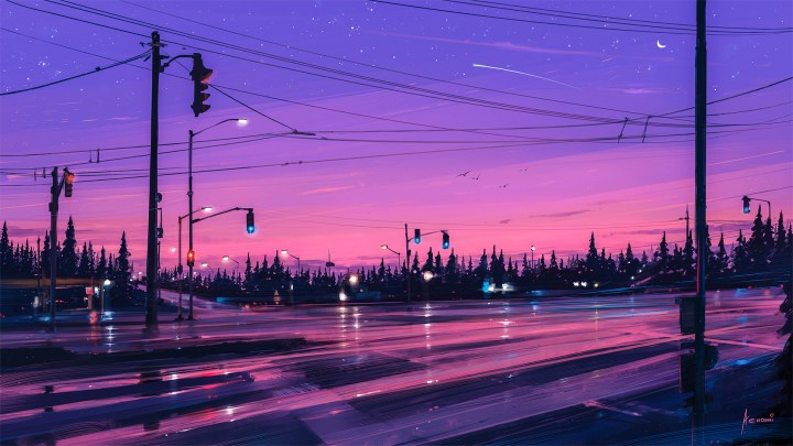 7 p.m. [1920×1080] by Alena Aenami