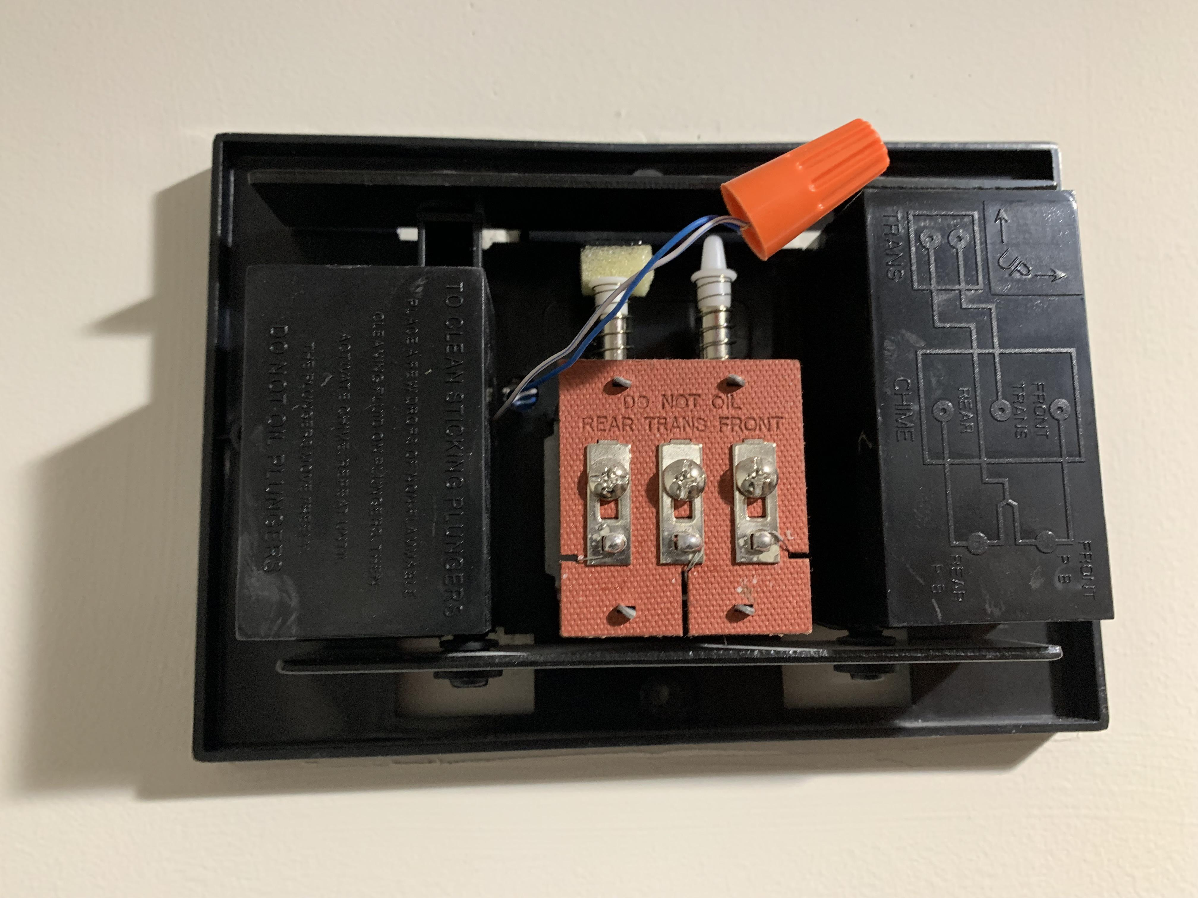 Chime Wiring Diagram Also Doorbell Two Chimes Wiring Diagram Wiring