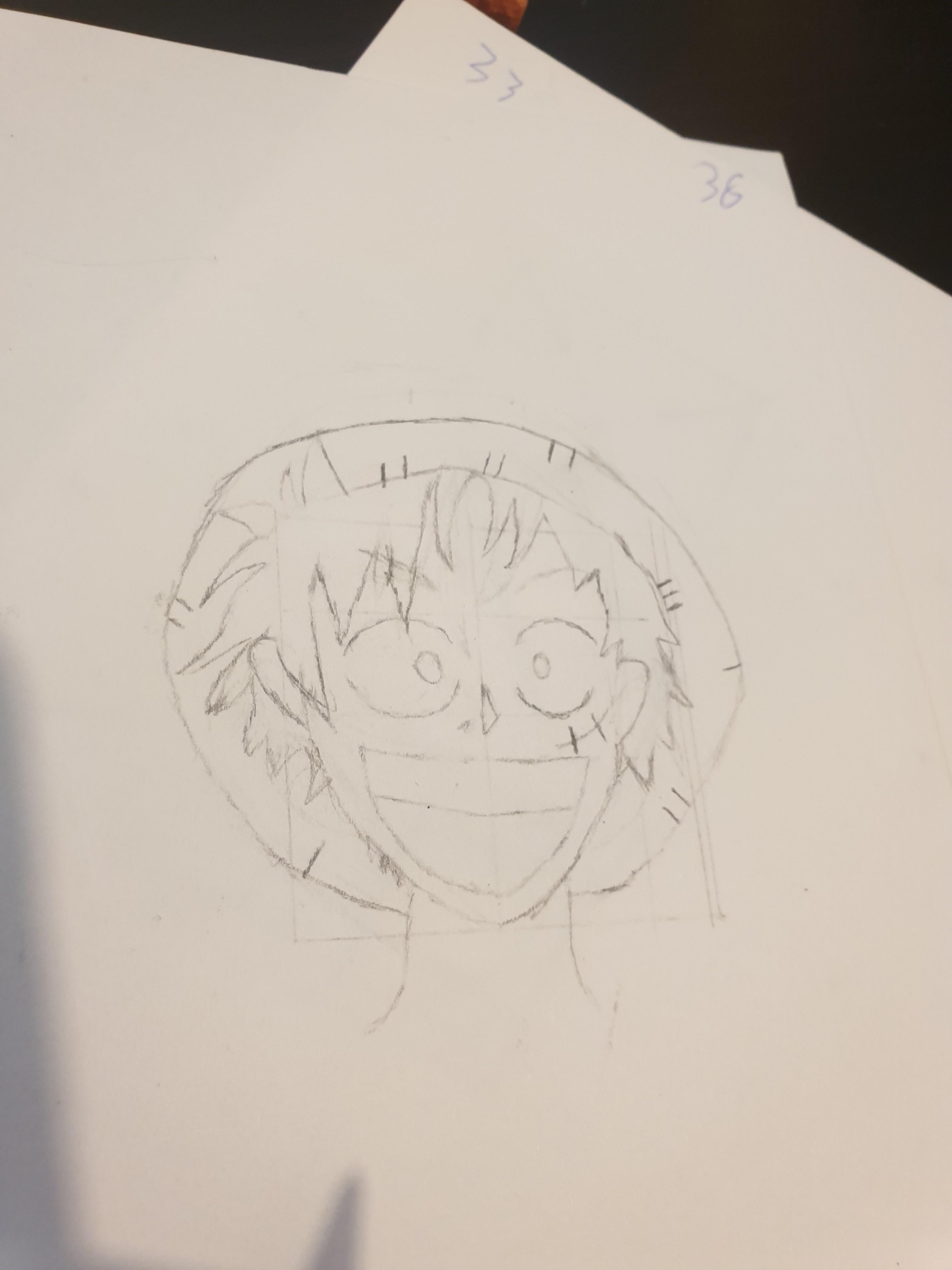 ‹ › home · view web version. I Decided To Try And Draw Luffy Pre Time Skip Onepiece