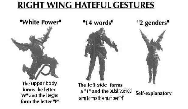 what dark souls gestures