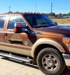2012 f 350 power stroke with custom bed montezuma tool box and diesel tank to fill equipment  [ 4032 x 1960 Pixel ]