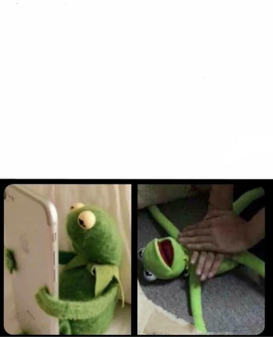 Kermit Getting Choked : kermit, getting, choked, Kermit, Dying, After, Looking, Phone, MemeTemplatesOfficial