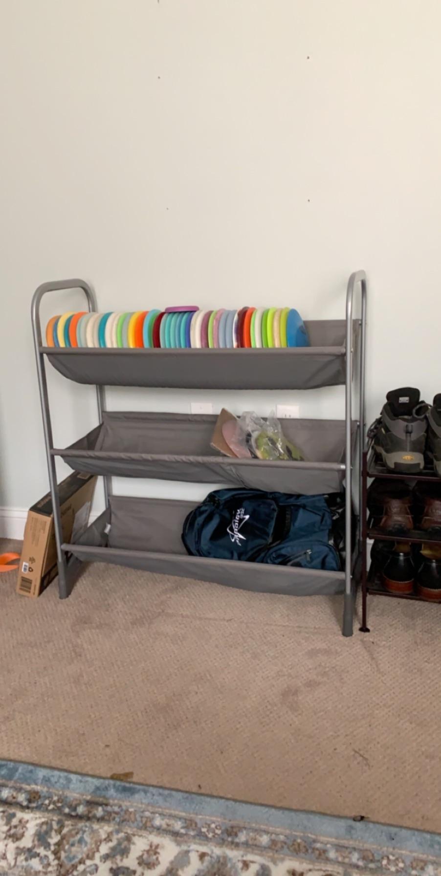 disc golf storage perfect rack to keep