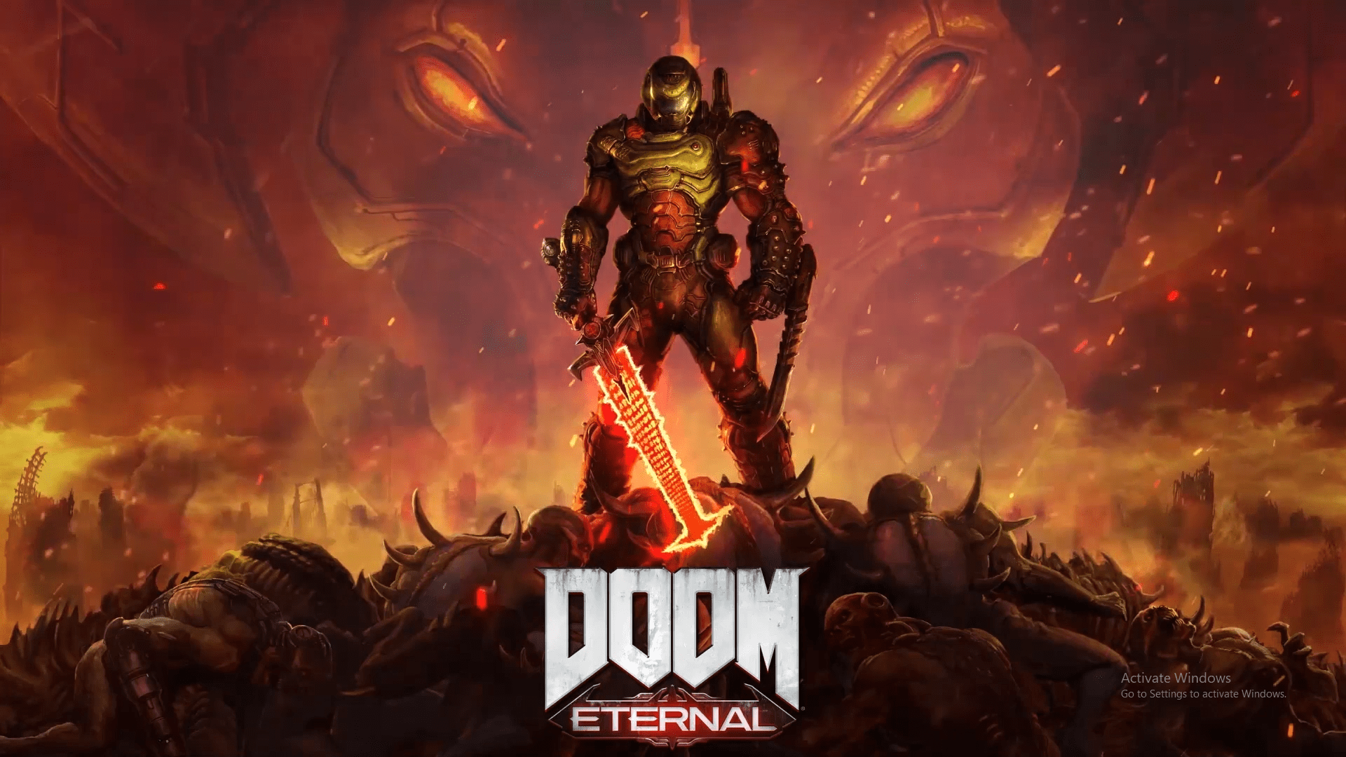If you want to use other video formats,. Doom Eternal live wallpaper from Livestream event ...