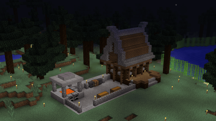 blacksmith taiga village minecraft realms comments
