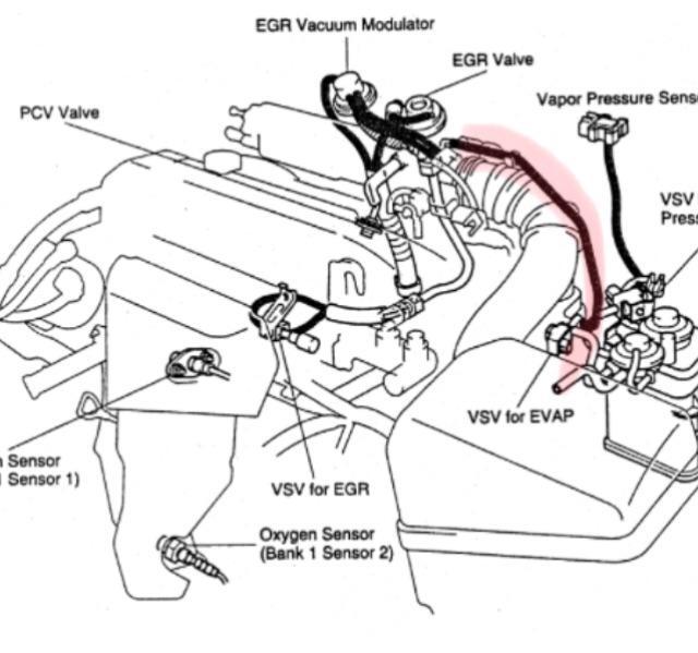 1999 Toyota Camry Egr Valve ~ Best Toyota