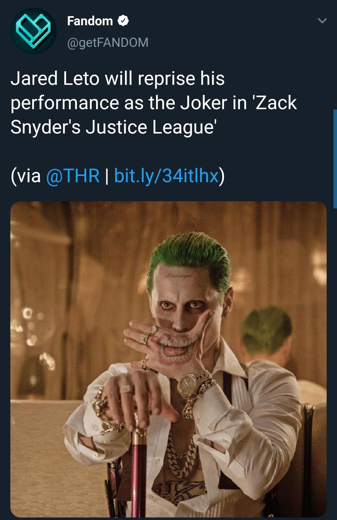 Jared Leto Joker Quotes : jared, joker, quotes, Jared, Snyder, Cut!!!!, Thoughts????, Joker