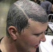 tattooed hair atbge