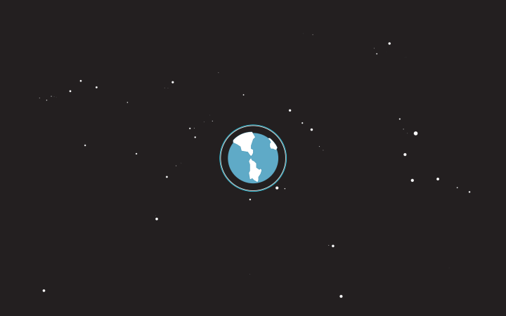 [2560×1600] Minimalist earth from space